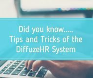 Did you know? Tips and tricks of the Diffuze System